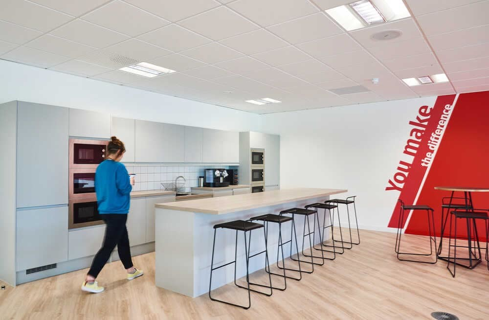Verisure Office Design in Newcastle by Oktra
