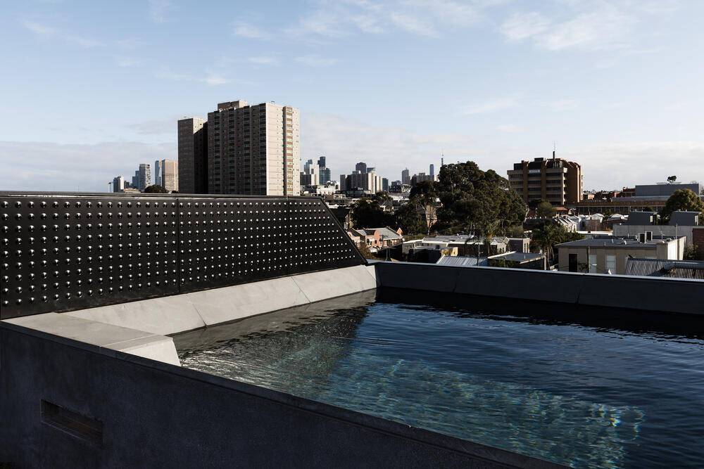 pool, Multi Residential Architecture and Vertical Living