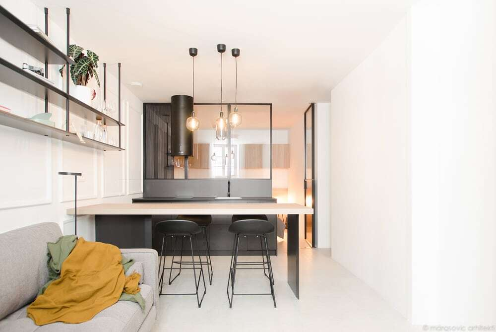 Narrow Apartment in a Historical Stone House