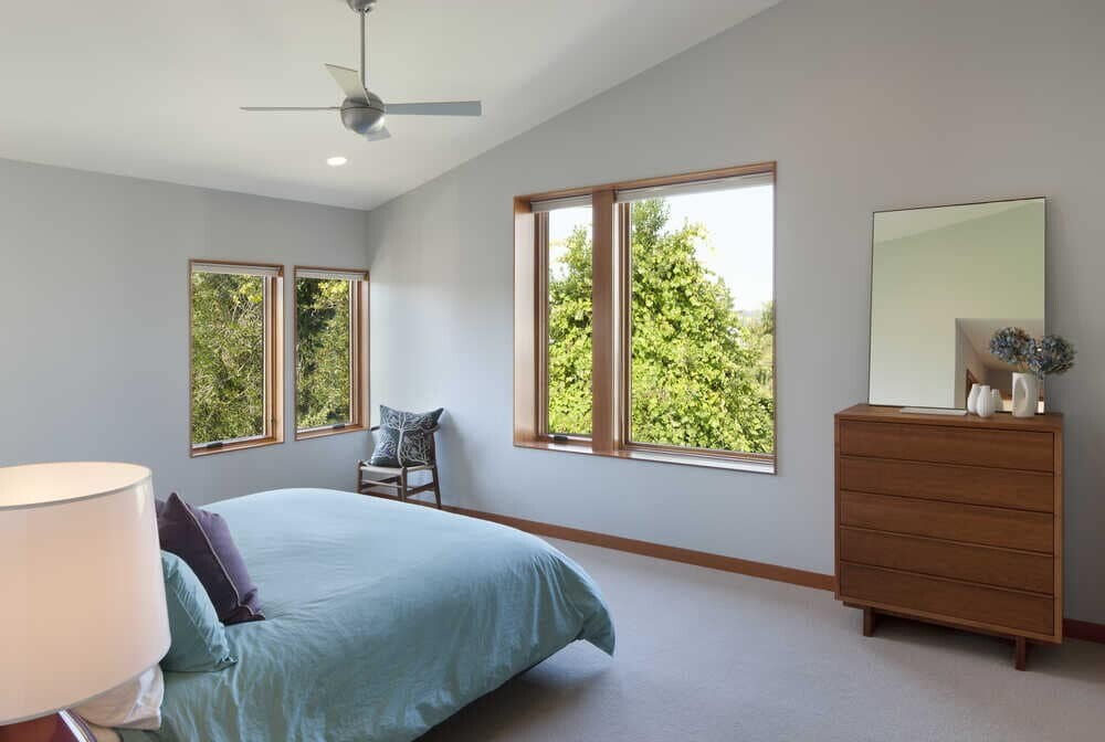 bedroom by Coates Design Architects