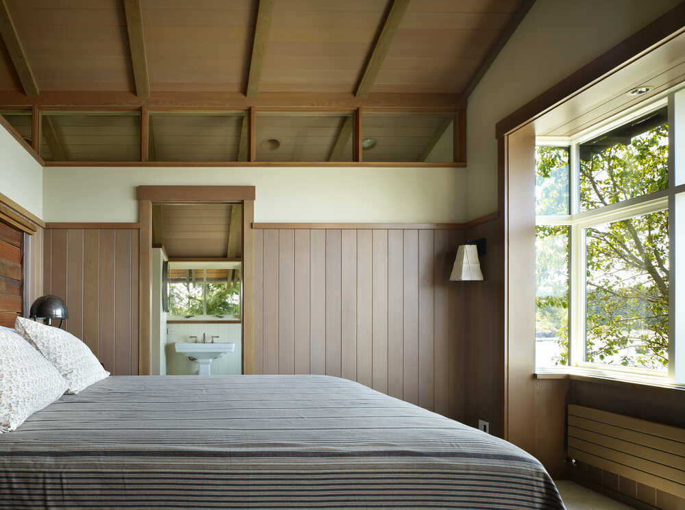 bedroom by Graham Baba Architects