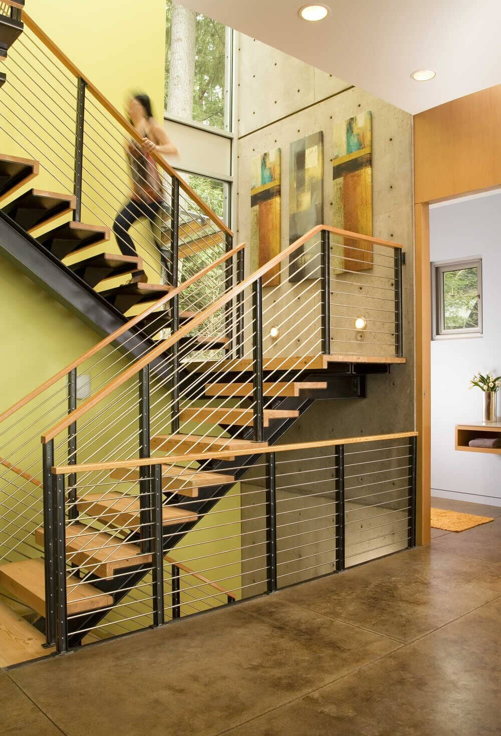 staircase, Coates Design Seattle Architects