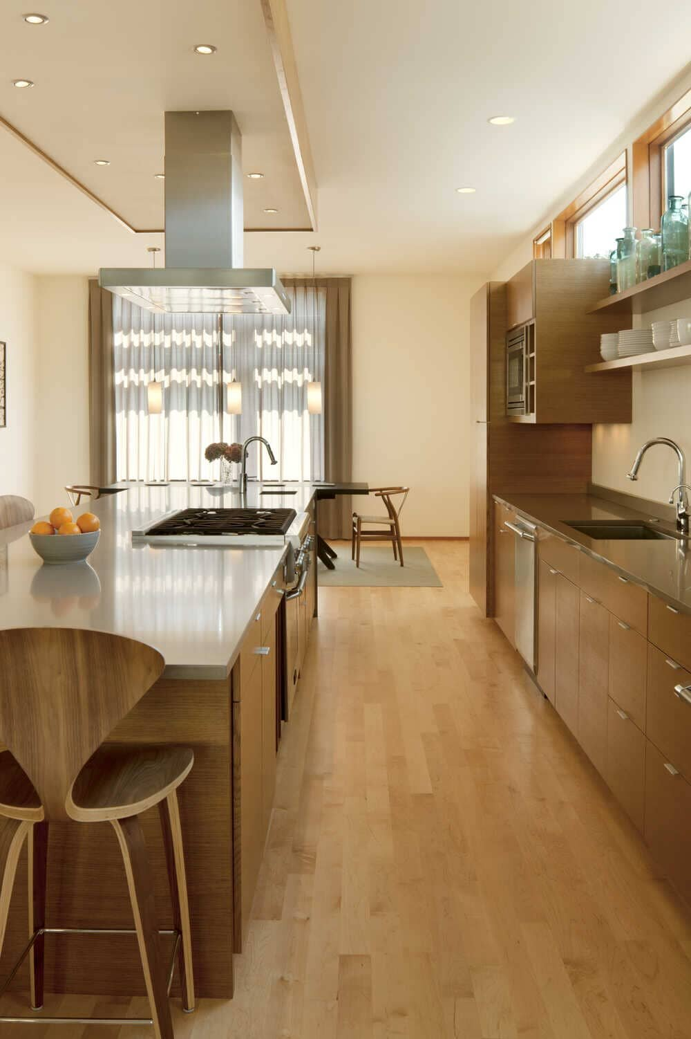 kitchen by Coates Design Architects
