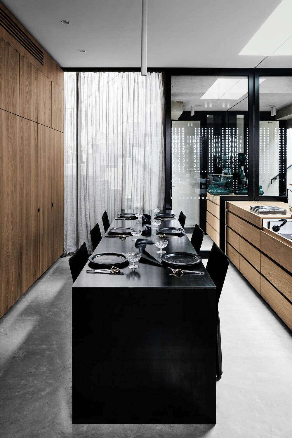 dining room, Multi Residential Architecture and Vertical Living