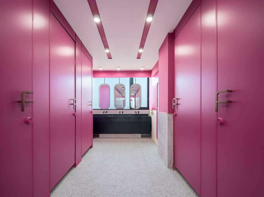 hall, bathroom, Young H Design