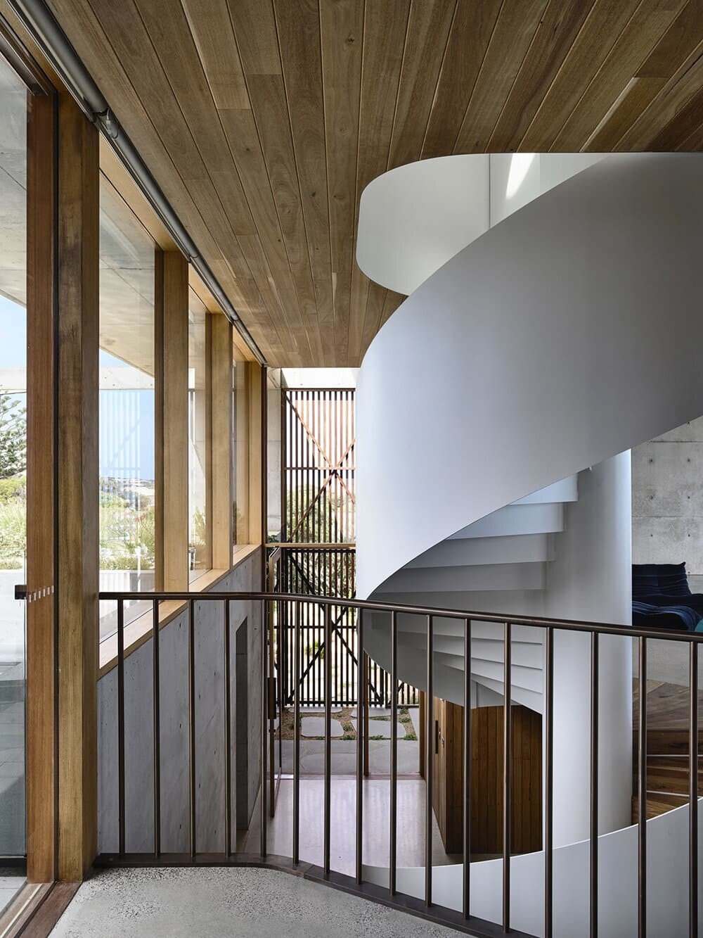 staircase by Auhaus Architecture
