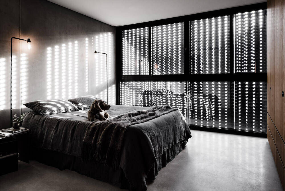 bedroom, Multi Residential Architecture and Vertical Living