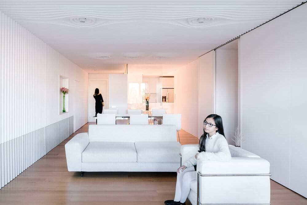 living room, Ruizesquiroz Architects