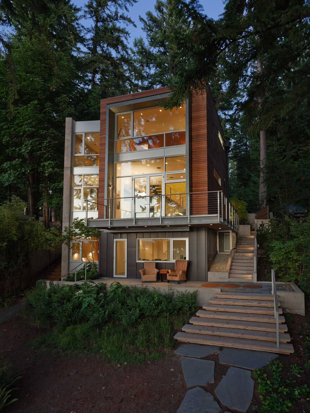 Hansen Road House by Coates Design Seattle Architects