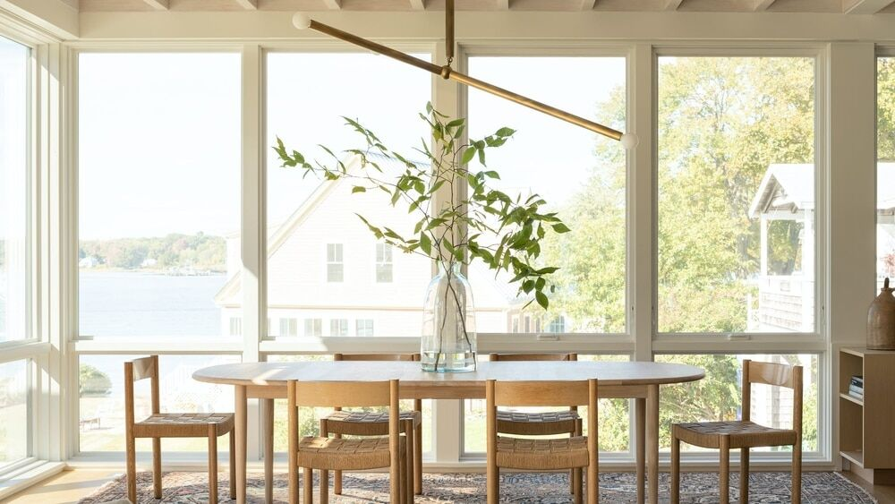 dining room, Whitten Architects
