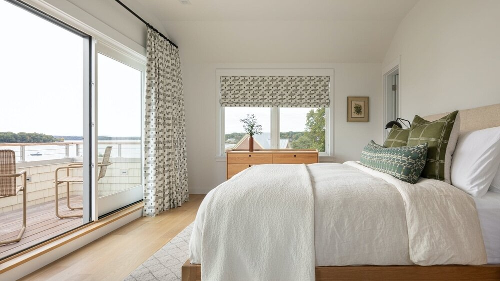 bedroom, Whitten Architects