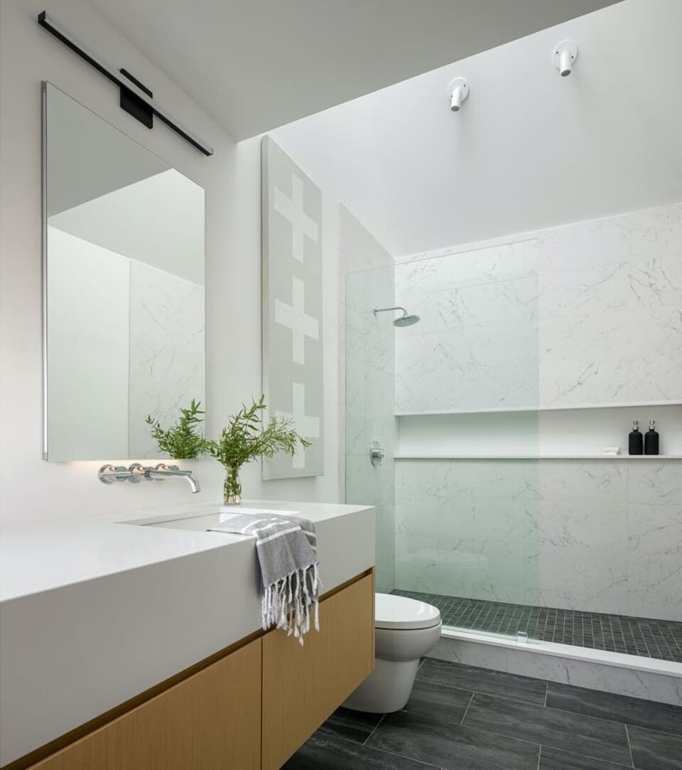 bathroom, Whitten Architects