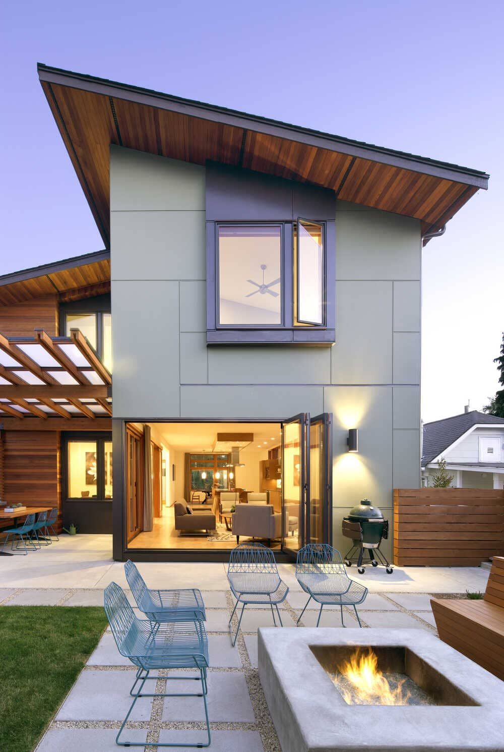 Green Lake Residence by Coates Design Architects