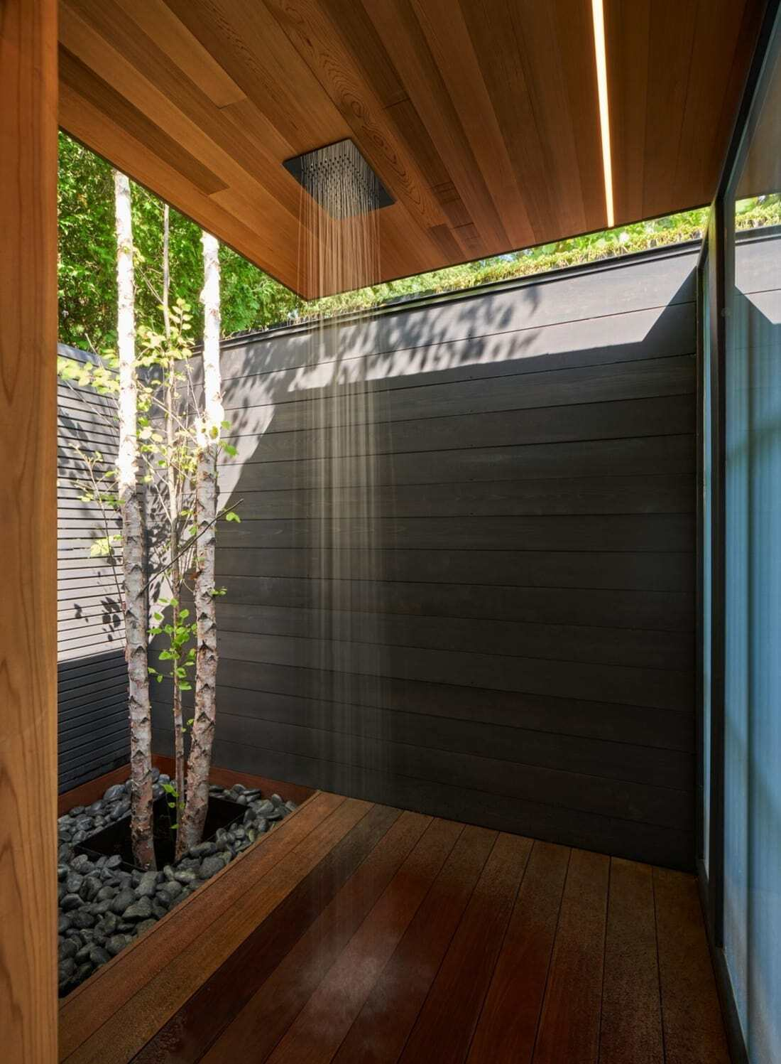 shower by Amantea Architects