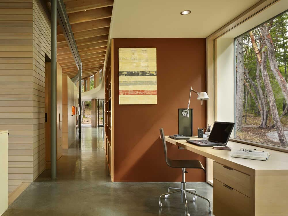home office, Heliotrope Architects