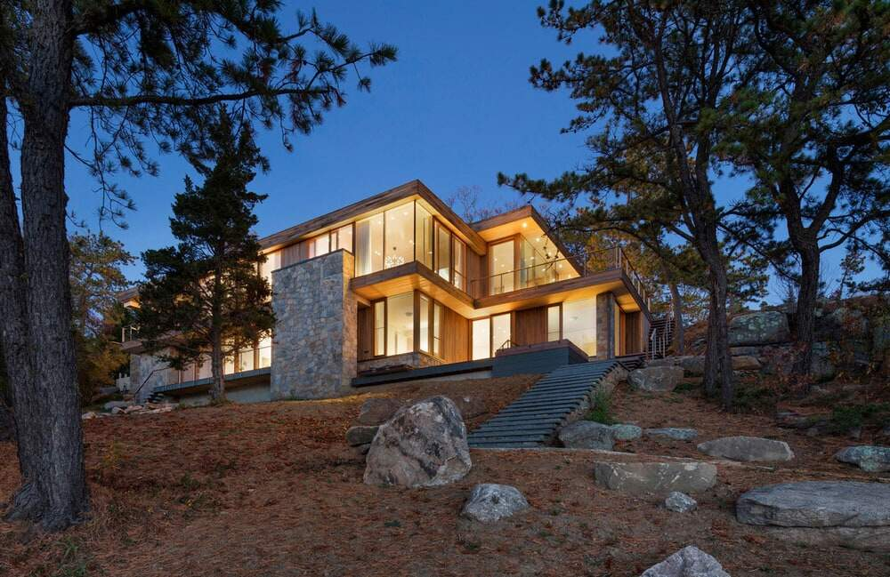 Old Quarry House by Gray Organschi Architecture