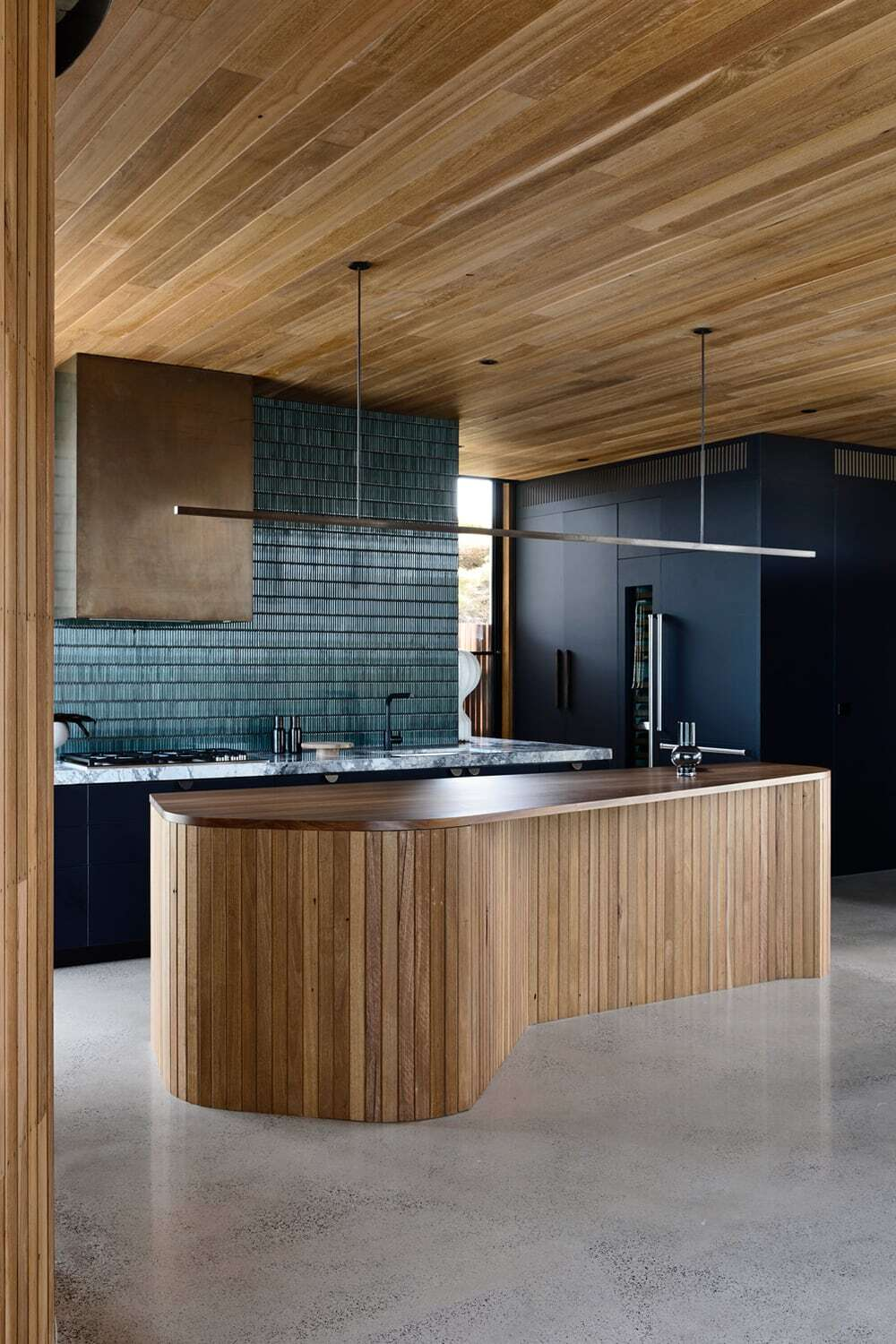 kitchen by Auhaus Architecture