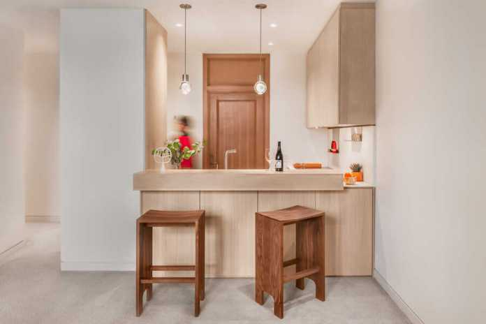 By Removing a Wall Full of Cabinets, this Small Kitchen Feels Larger and Looks Refreshed