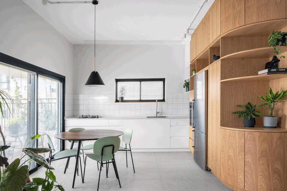 dining room by RUST Architects