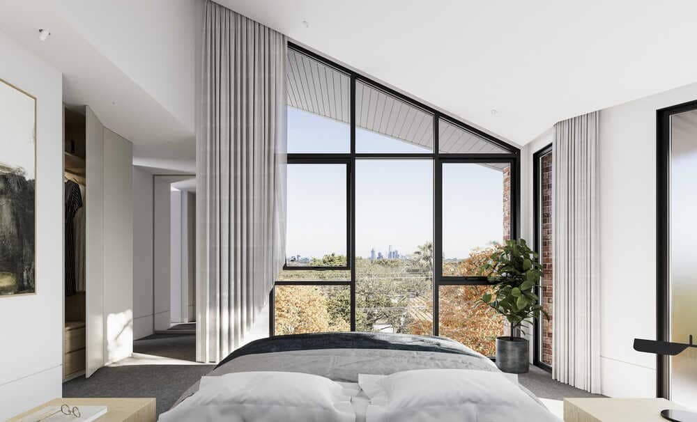 bedroom by Megowan Architectural