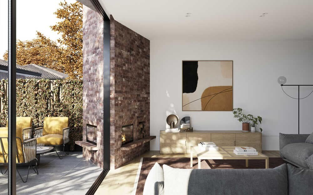 Kindred Townhouses by Megowan Architectural