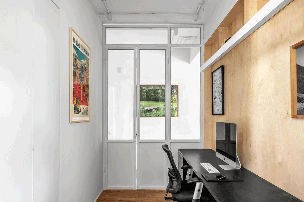 home office by RUST Architects