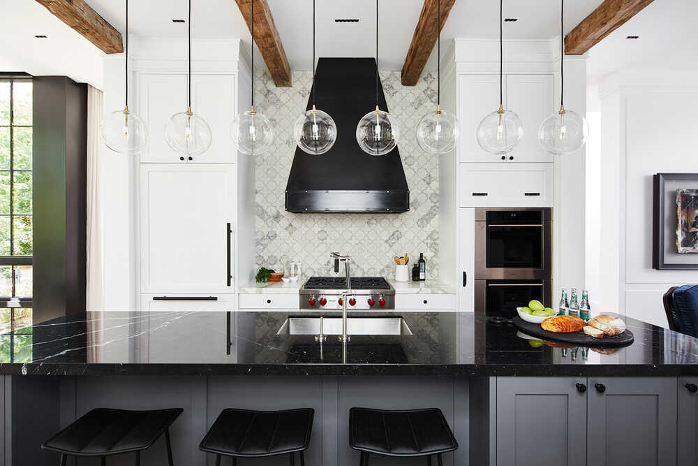 Parkwood Residence Exudes Contemporary Elegance Balanced with a Modernized Industrial Flair