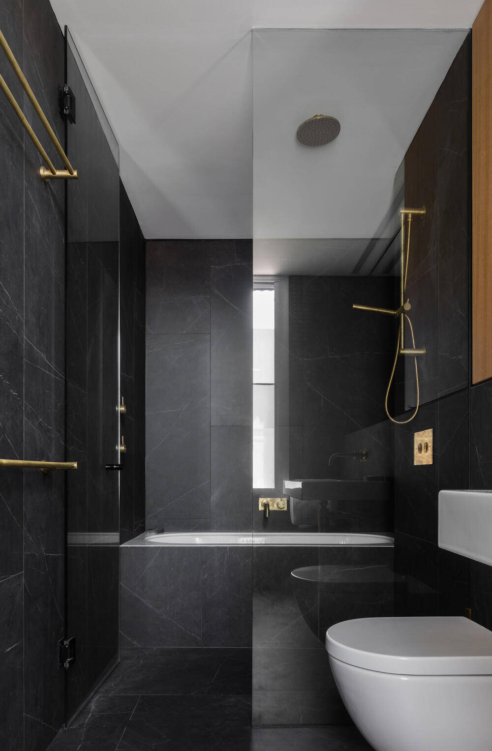 bathroom by Tzannes