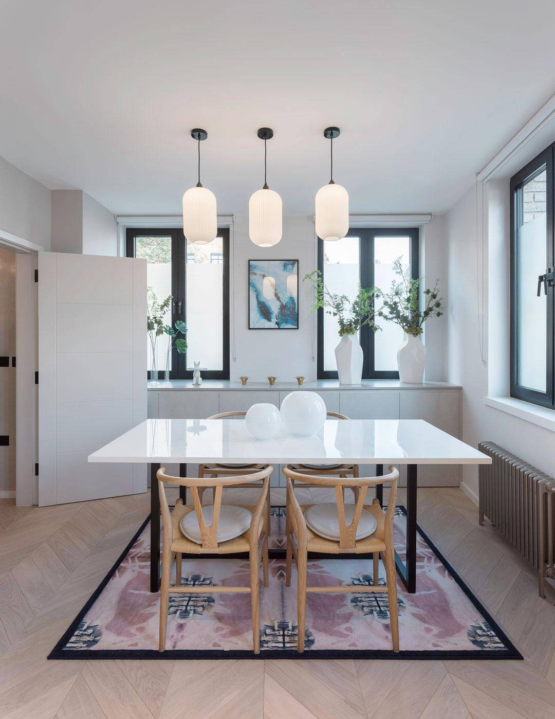 dining room, Chris Dyson Architects