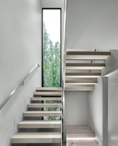 Zinc House, staircase