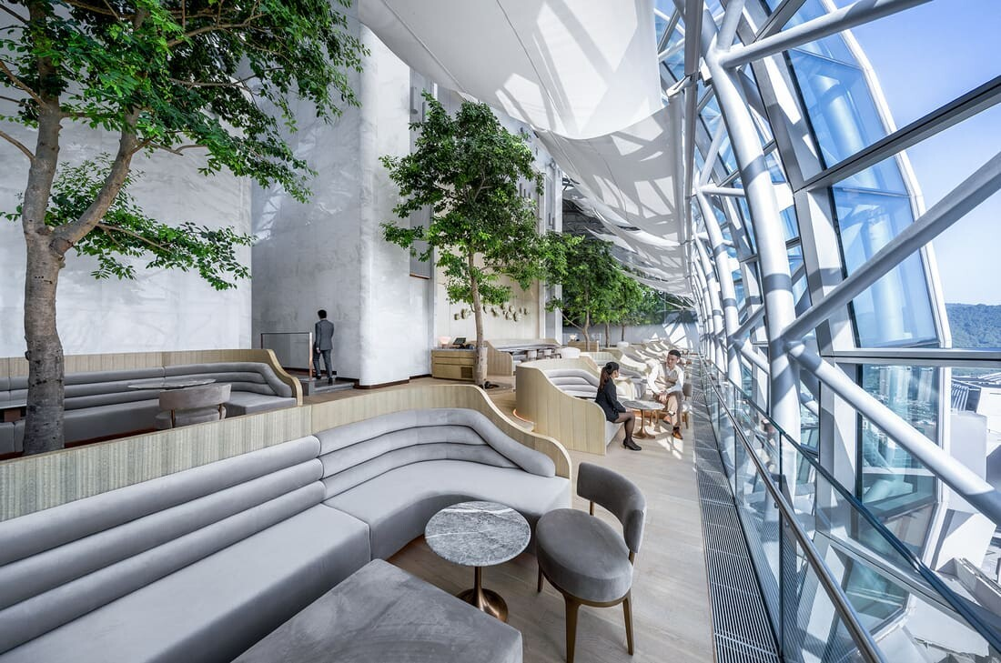 Lobby Lounge, CL3 Architects