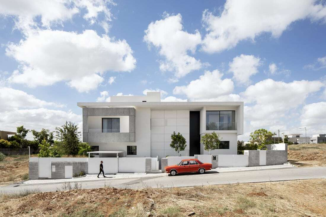 Two in One House, Spectacular Residential Architecture by Raz Melamed Architect