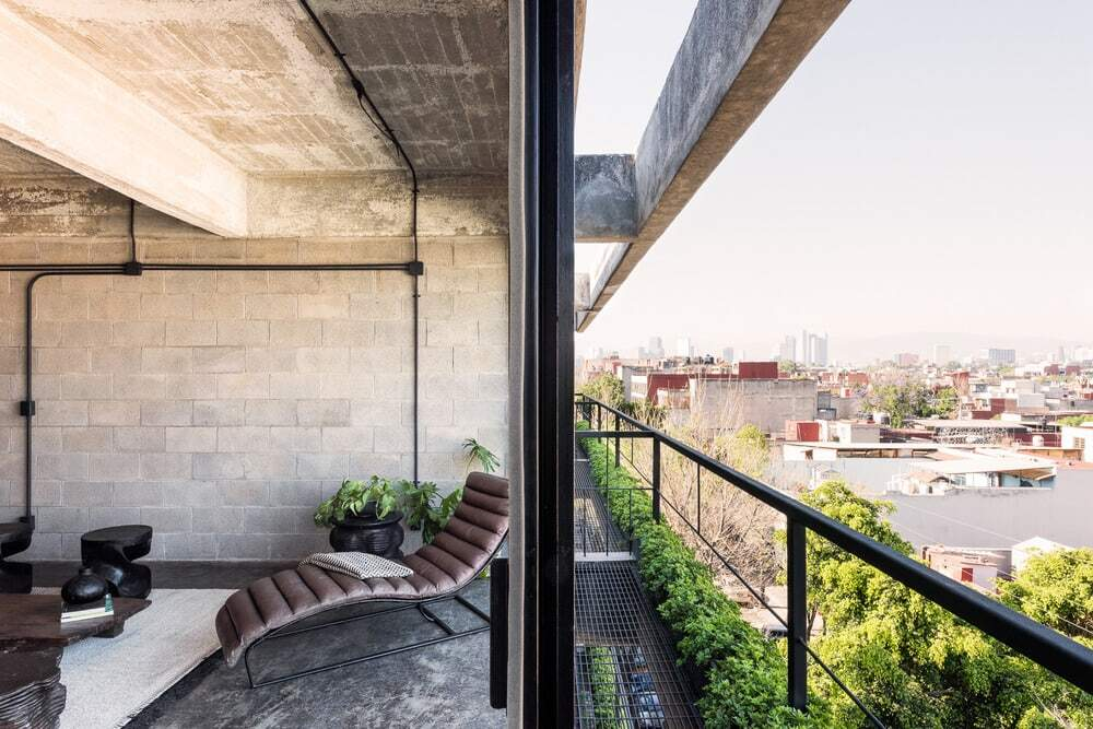 Housing Complex Designed by BAAQ´ in an Industrial Building in Mexico City