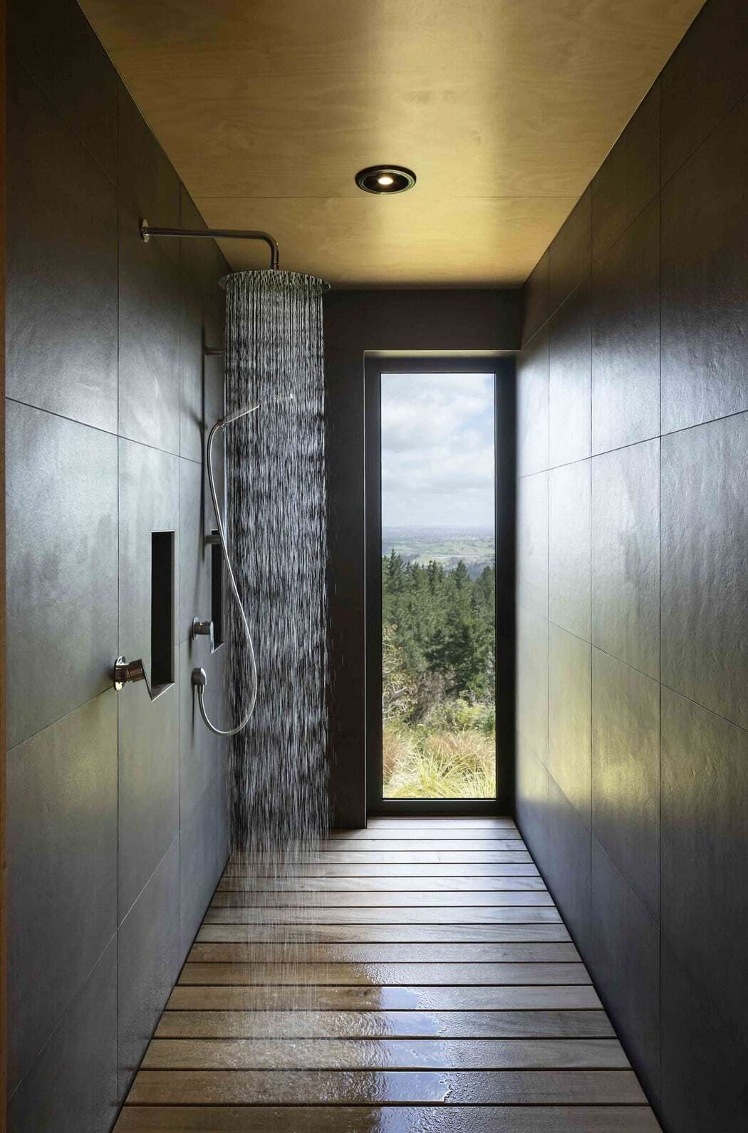 shower, Strachan Group Architects