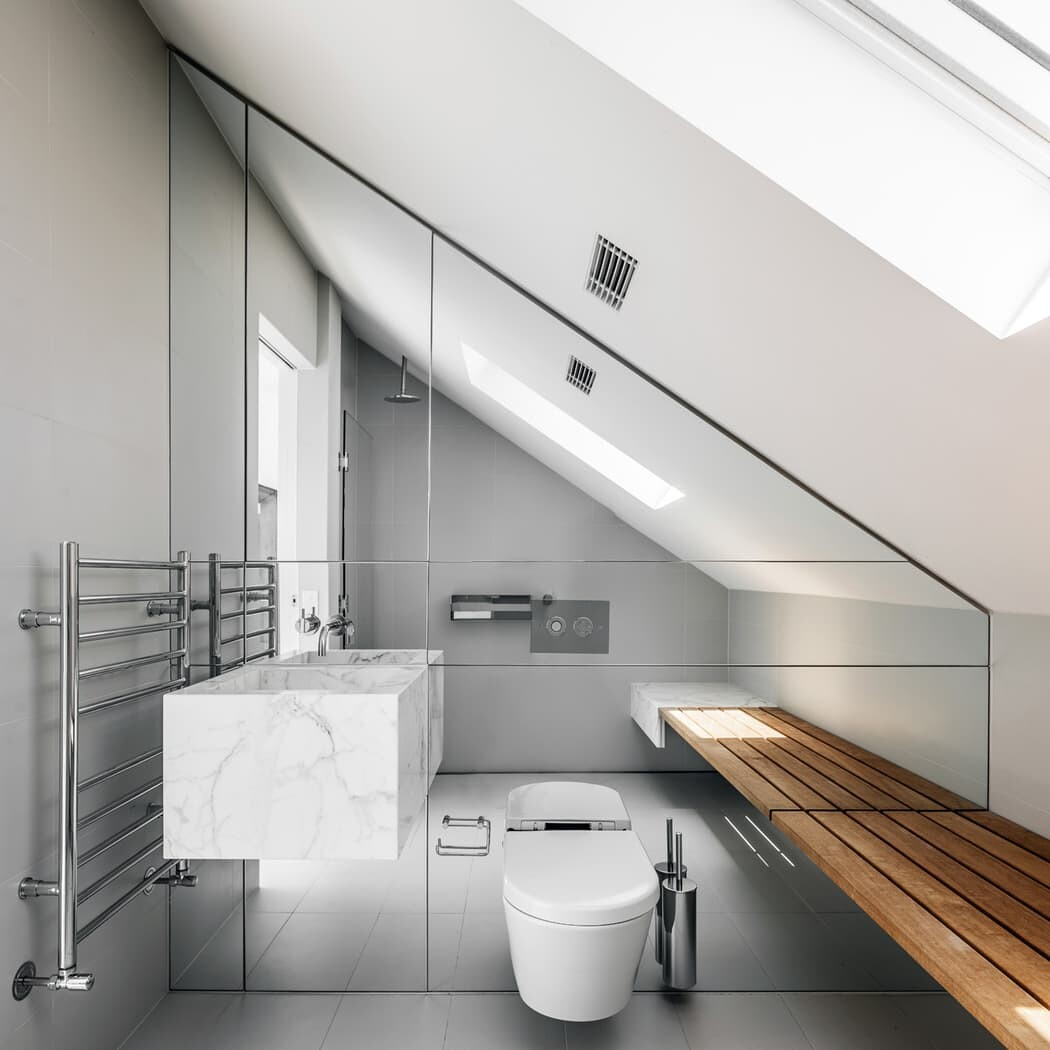bathroom by MCK Architects