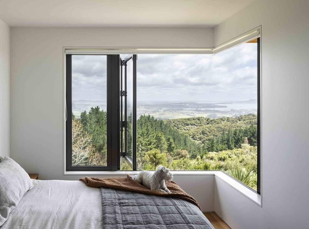 bedroom, Strachan Group Architects