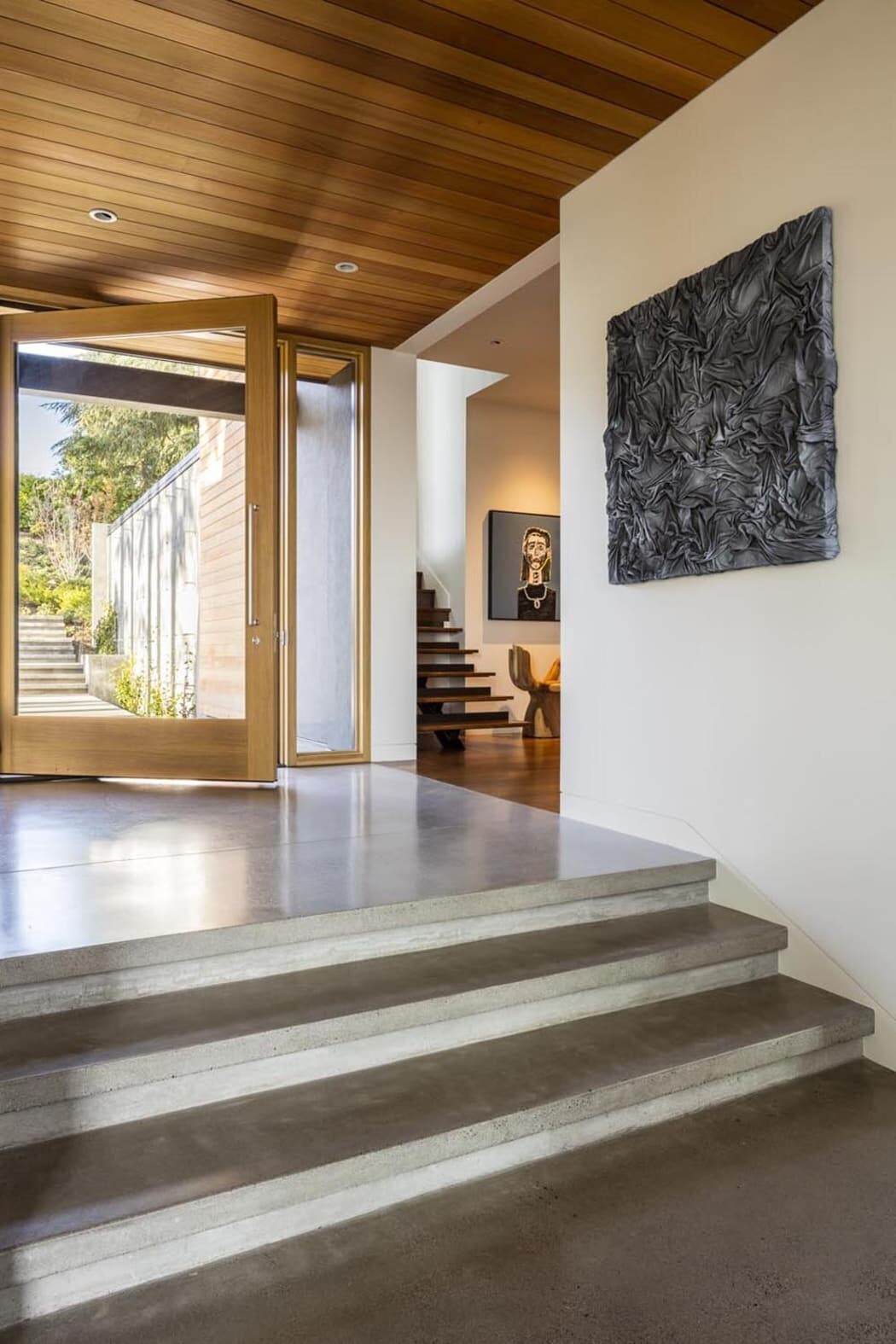 entrance hall / DeForest Architects