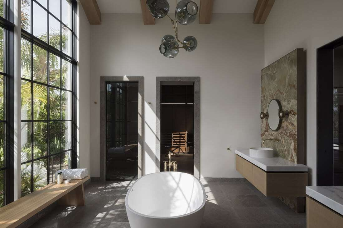 bathroom, by VSHD Design