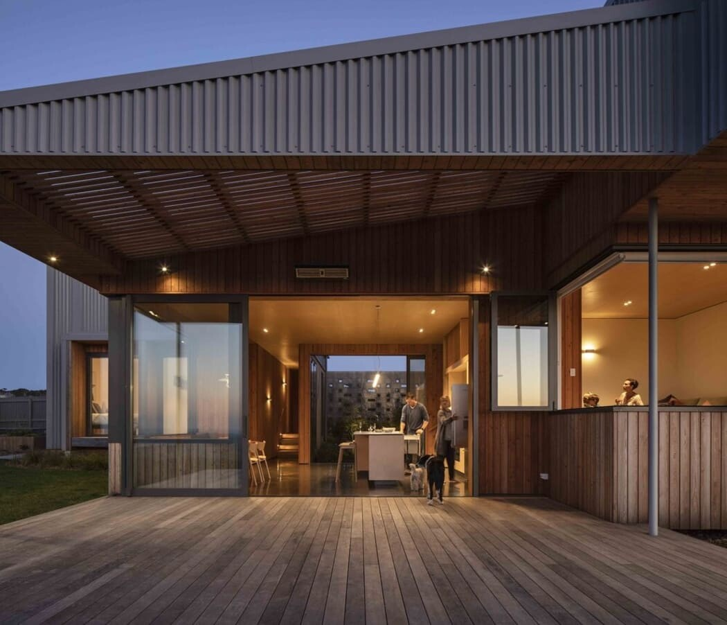 terrace, Strachan Group Architects