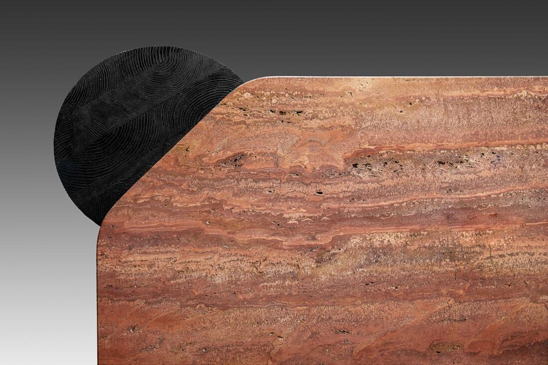 Flame Red Travertine, Multi-Cultural South African Charm