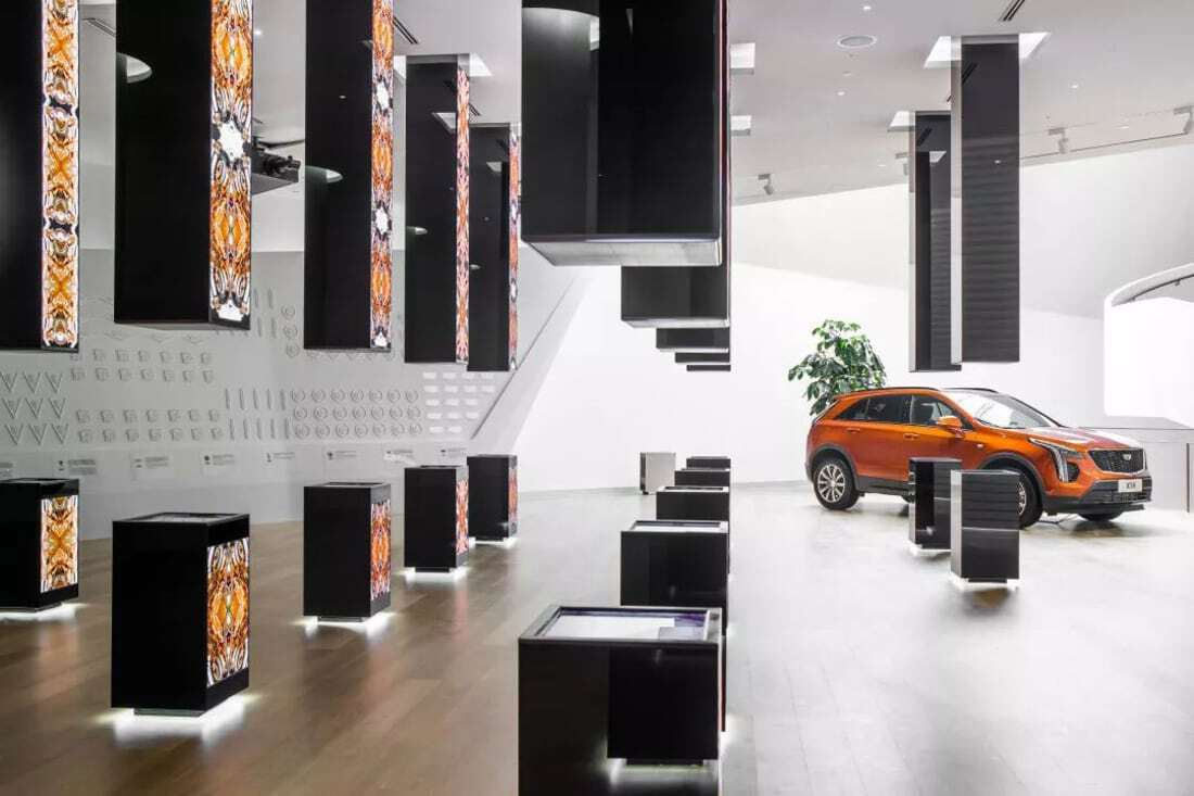 Cadillac House, designed by Gensler, Shanghai, China