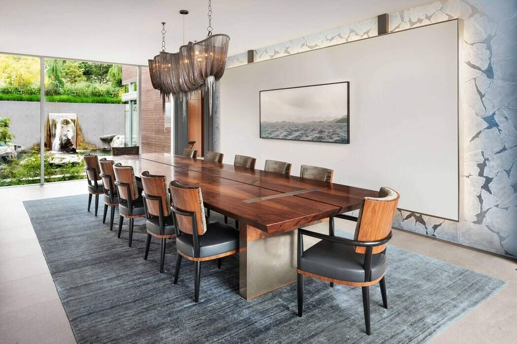 dining room / Garret Cord Werner Architects