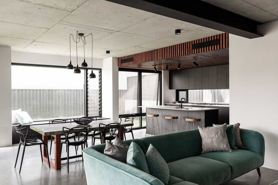 Residential Project by Dalecki Design Featuring a Modern Industrial Design