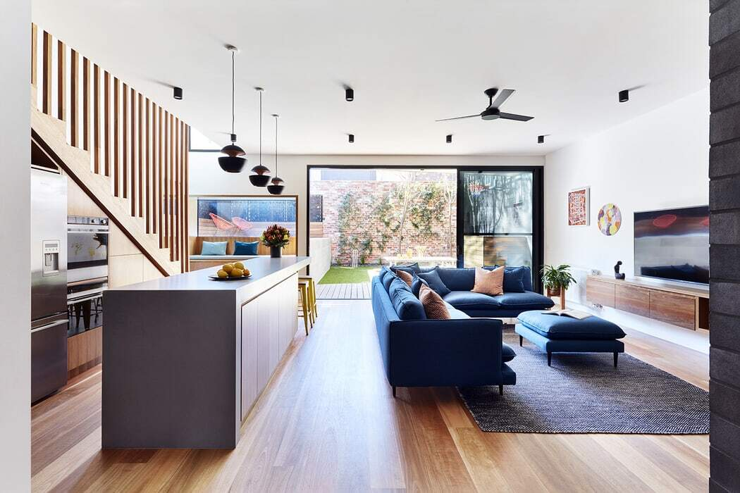 Brooks House, Alterations and Additions by Bryant Alsop Architects