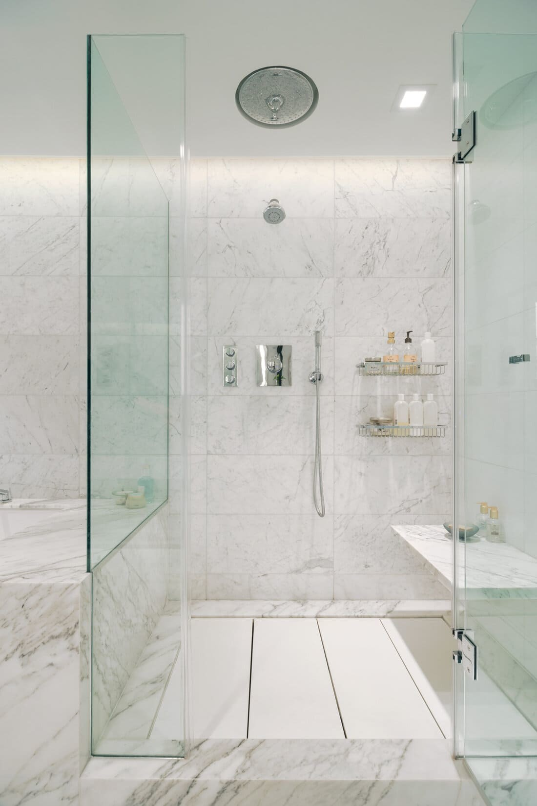 New York Apartment Gains a Spacious Luxury Bathroom and Dressing Room