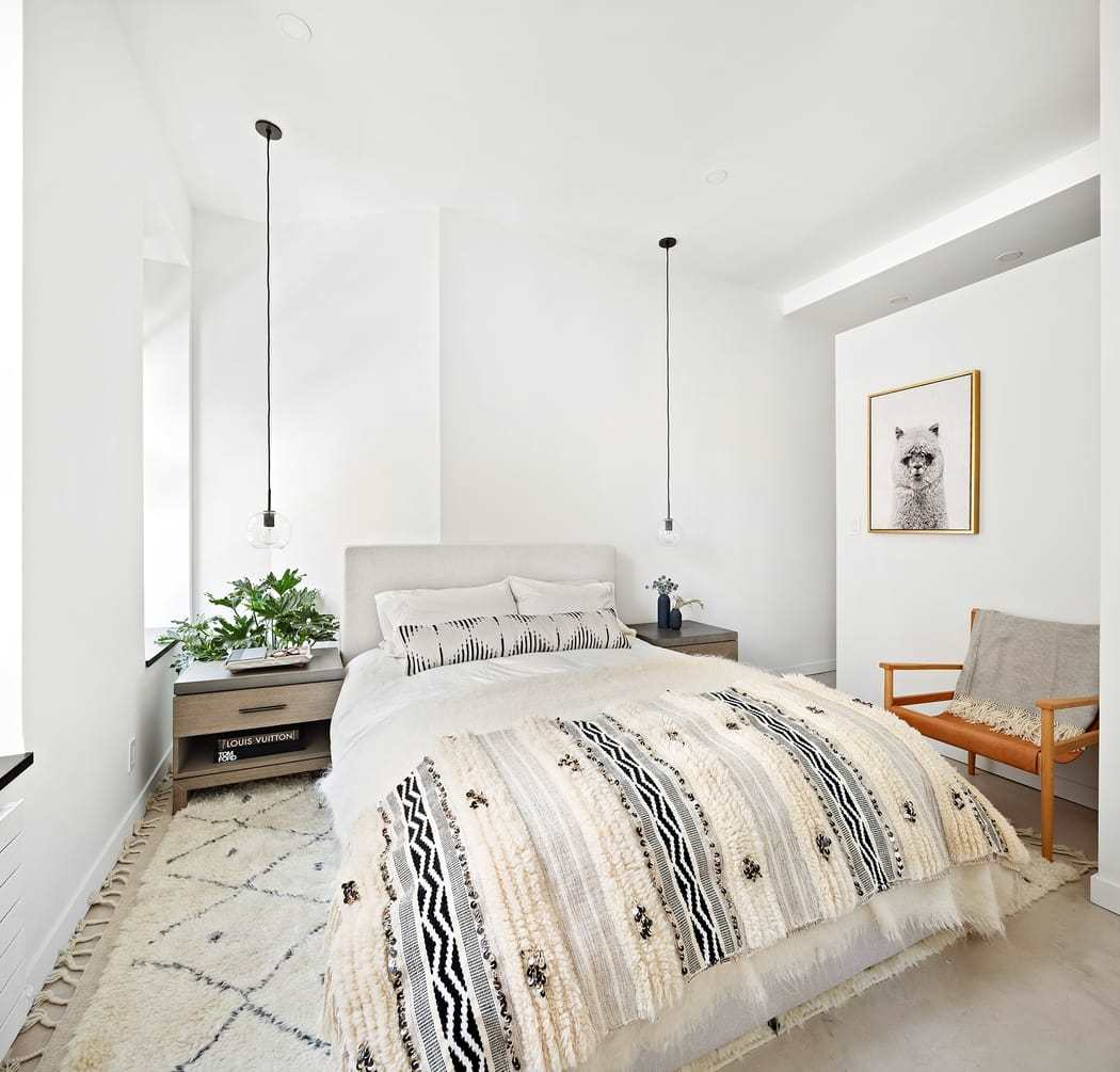 bedroom by Kimberly Peck Architect