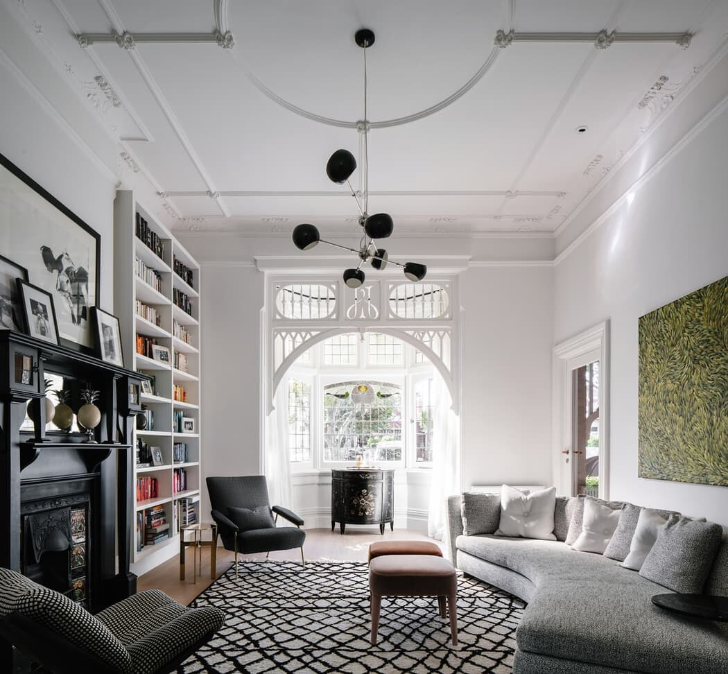 living room by MCK Architects