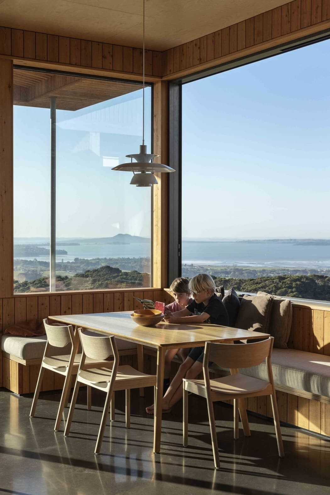 dining room, Strachan Group Architects