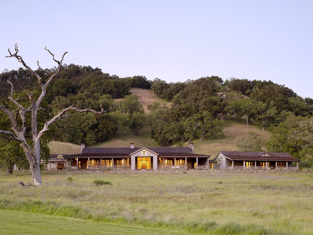 Private Retreat in Coastal California Inspired by South American Estancia Architecture