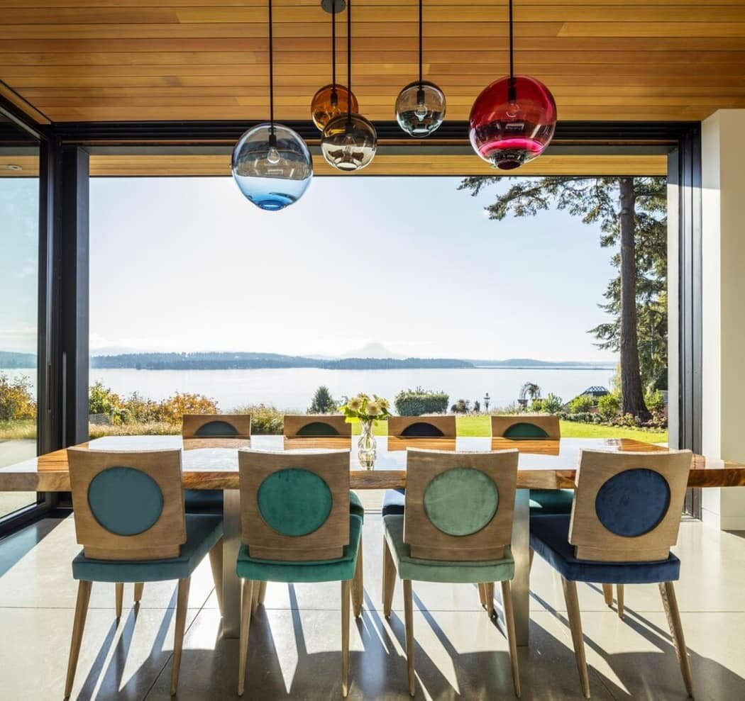 dining room / DeForest Architects